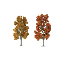 0592104 SYCAMORE Autumn 2.5 to 3.5 SCENIC N-scale, 8/pk