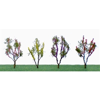 "0595504 FLOWER TREES 1.5""~2"", O-SCALE, 24/PK"