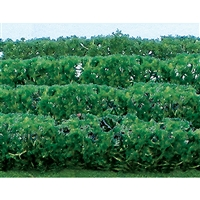 "0595515 FLOWER HEDGES 5"" x 3/8"" x 5/8"" HO-SCALE, GREEN, 8/PK"