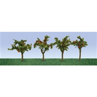 "0595517 APPLE SAPLINGS 1""~3/8"", HO-SCALE, 12/PK"
