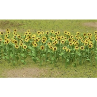 "0595523 SUNFLOWERS 1"" HO-SCALE, 16/PK"