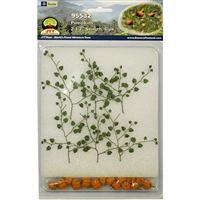 "0595532 PUMPKINS 2-1/2"" Long O Scale, 6/pk"