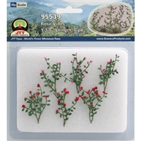 "0595539 ROSE BUSHES 1-3/8"" Long HO Scale, 6/pk"