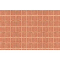 0597416 PATTERN SHEETS, Square Tile, HO-scale (1:100) 2/pk