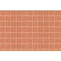 0597419 PATTERN SHEETS, Square Tile, G-scale (1:24) 2/pk