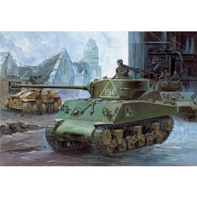 13010 M4A2 SHERMAN RUSSIAN ARMY