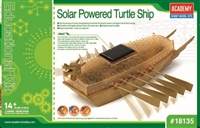 18135 SOLAR POWERED TURTLE SHIP