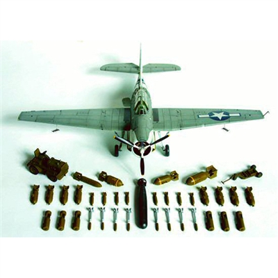 WWII ALLIED ARMAMENT& GROUND SERIES 1/48