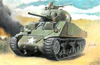 5515751 1/56 M4 Sherman 75mm (Glue, Paints and Brush NOT INCLUDED)