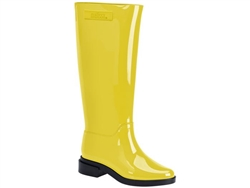 Yellow Long Boot