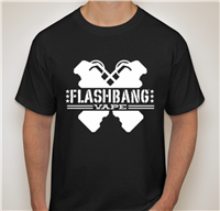 Flashbang Mens T-Shirt Black