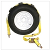 Over The Tire Adjustable Strap with Cleats