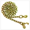 "GRADE 70 Chain with Grab Hook one end, T and Grab Hooks one end 5/16"" x 6FT"