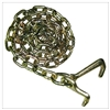 "GRADE 70 Chain with Mini J and T Hooks 5/16"" x 6FT"