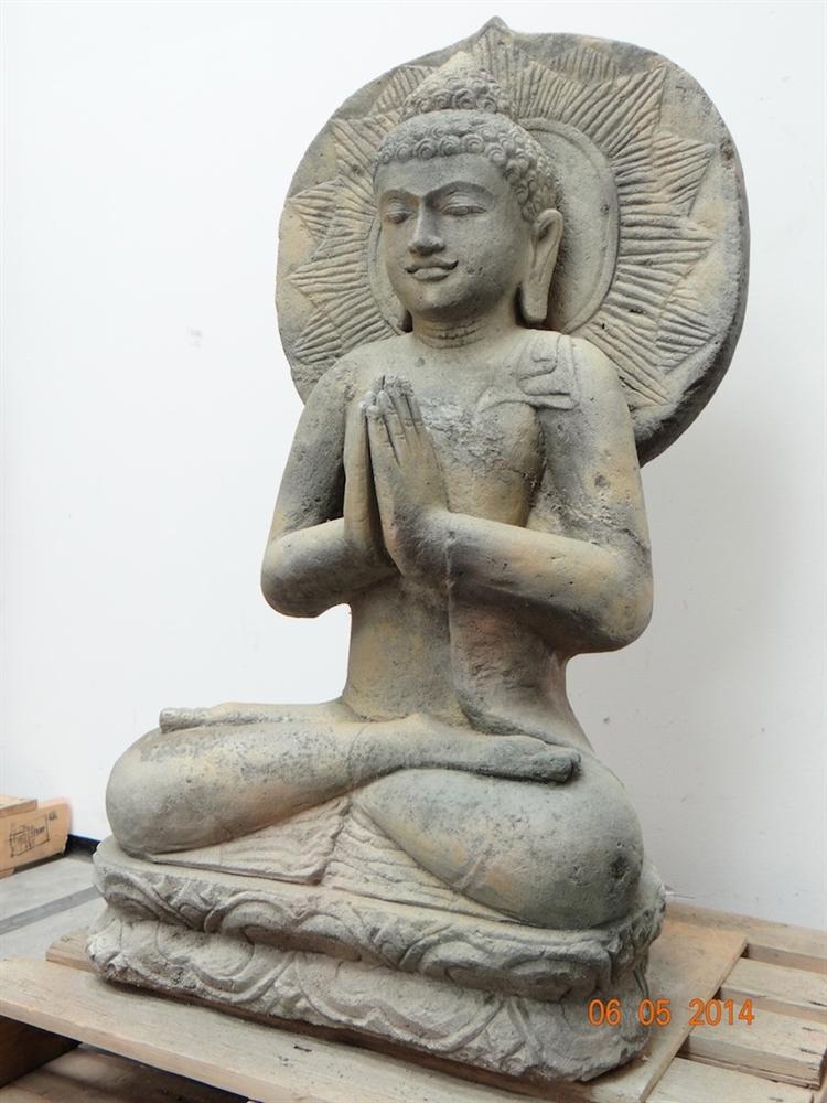 3ft hand carved stone garden buddha statue price 195000 m4hsunfo