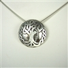 Large Oak Tree Necklace
