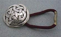 Small Celtic Interlace Circle Hair Tie