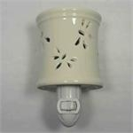 Ceramic Aromatherapy Oil Plug-in Burner Night light.