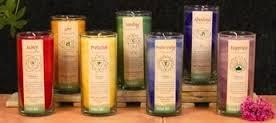 100% Essential Oil & Palm Wax Chakra Candles
