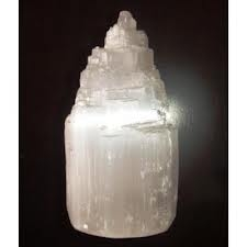 Selenite Cathedral Lamp