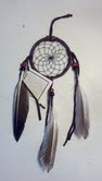 Brown Dreamcatcher, Medium