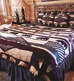 Yuma Bear Bedspread & 2 Shams - King & (2) Shams