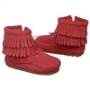 Double Fringe Side-Zip Bootie