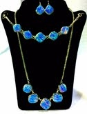 Blue Opal 3 pc Set