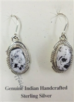 White Buffalo Earrings