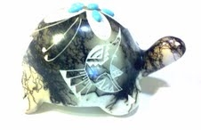 Navajo Horse Hair Pottery, Turtle