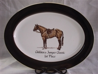 Oval Serving Platter - Award Plate