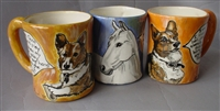 Original Hand-Painted Mugs