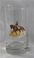 Beverage Glasses - Dressage Horse - Set of 4