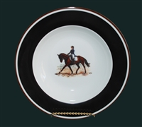 Soup/Cereal Bowl - Dressage Horse