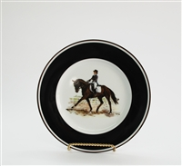 Bread & Butter Plate - Dressage Horse