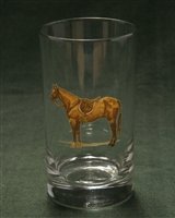 Beverage Glasses - Hunter Horse - Set of 4