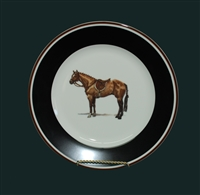 Dessert/Breakfast Plate - Hunter Horse