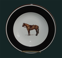 Soup/Cereal Bowl - Hunter Horse
