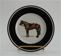 Bread & Butter Plate - Hunter Horse