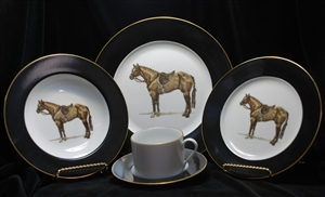5-pc Place Setting - Hunter Horse