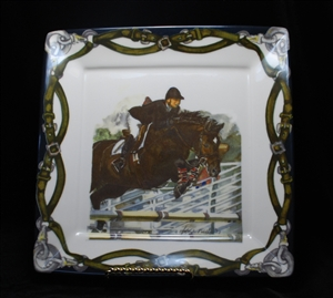 "Square Plate - 10-1/2"" - Jumper/Star"
