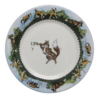 Bread & Butter Plate - Fox & Horn