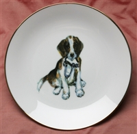 Gold Band Coupe Plate - Pup & Spur