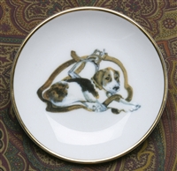 Gold Band Coaster - Pup & Stirrup - Set of 4