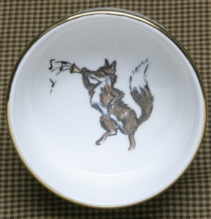 Ramekin - Gold Band - Fox & Horn