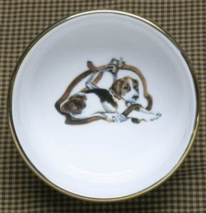 Ramekin - Gold Band - Pup & Stirrup