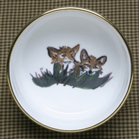 Ramekin - Gold Band - Fox Kits
