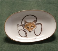 Soap Dish - Gold Band - Fox & Whip