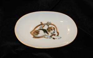 Soap Dish - Gold Band - Pup & Stirrup