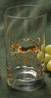 Beverage Glasses - Foxhound & Whips - Set of 4